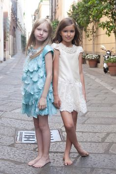 Pamilla Haute Couture Spring Summer 2017 From Pitti Bimbo 83 To Milan Italian Baby Models