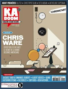 Revue Kaboom, n° spécial Chris Ware Jaco, Superman, Chris Ware, Collage Making, About Uk, Blog, Cover, 2013, Magazines