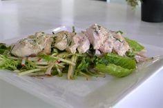 Milk Poached Chicken with Market Basket Salad - LifeStyle FOOD