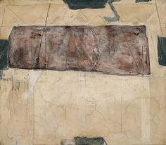 Antoni Tapies, Blanc i rosa, 1964 on ArtStack #antoni-tapies #art
