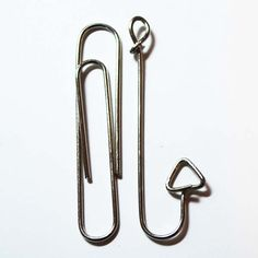 Whimsie Doodles Digital Stamps: Up cycle Paper clips by making fish hooks!
