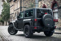 Jeep Wrangler Black Hawk Edition by Project Kahn