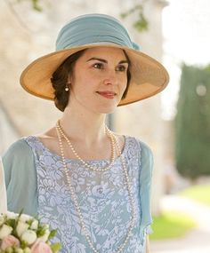 Lady Mary looked more beautiful than the bride did at Edith's wedding!