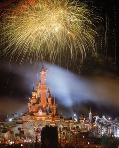 EuroDisney (Disneyland) in Paris, France