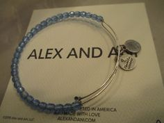 Alex and Ani Blue Shimmering Sea Bead Silver Bangle Bracelet RARE. Get the lowest price on Alex and Ani Blue Shimmering Sea Bead Silver Bangle Bracelet RARE and other fabulous designer clothing and accessories! Shop Tradesy now
