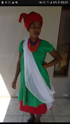 Sepedi Traditional Dresses, African Traditional Wear, Cover Up, Sari, How To Wear, Inspiration, Design, Fashion, Saree