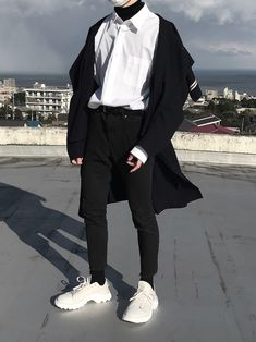Sport wear fashion guys ideas for 2019 Edgy Outfits, Korean Outfits, Mode Outfits, Grunge Outfits, Sport Outfits, Korean Outfit Male, Summer Outfits, Fashion Guys, Korean Fashion Men