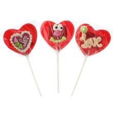 Acadele in forma de inimioara, atragatoare si iubitoare :) Figurine