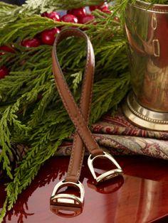 Double-Stirrup Ornament - Decorative Accessories  Home - RalphLauren.com