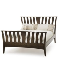 Serene Furnishings - Ordelia 5ft King Size Double Wooden Bed