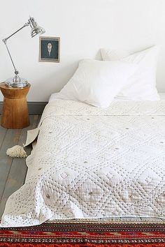 diamond stitch quilt / urban outfitters
