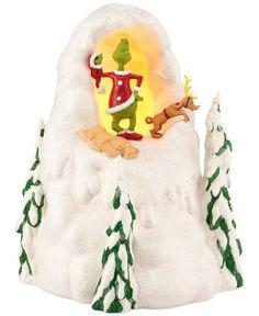 Department 56 Grinch Village Mount Crumpet Collectible Figurine