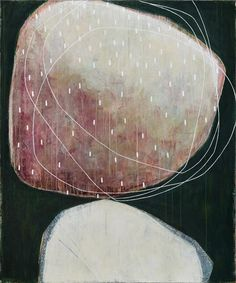 Karine Leger > DANCING SKY #1 – 48x40 – acrylic on canvas