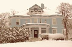 Victorian House Powder Blue