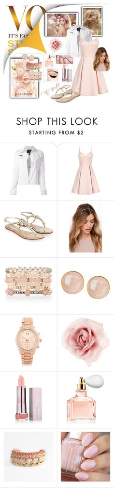 """Like i can"" by madhu-147 ❤ liked on Polyvore featuring Whiteley, Philipp Plein, Jill Stuart, Girls On Film, Monsoon, White House Black Market, Saachi, Michael Kors, Accessorize and Guerlain"