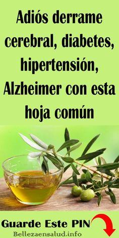 Adiós derrame cerebral, diabetes, hipertensión, Alzheimer con esta hoja común. #hipertensión #diabetes #remedios #salud #Alzheimer #hojasdeolivo #derramecerebral