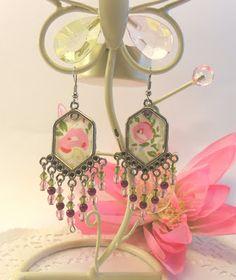 Rosa Chá Atelier : Brincos , muitos brincos Fabric earrings