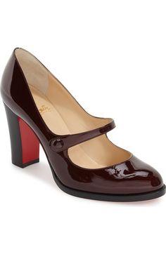 CHRISTIAN LOUBOUTIN 'Top Street' Mary Jane Pump. #christianlouboutin #shoes #pumps