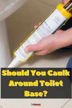 Are You Thinking About Chaulking Your Toilet base? Read Our Full Article where we reveal everything you need to know about chaulking a toilet base. Leaking Toilet, Bidet Toilet Seat, Toilet Seats, Colored Toilets, Water Tub, Plumbing Installation, Dual Flush Toilet, Composting, Masking Tape