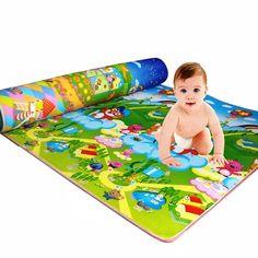 Baby Kid Toddler Crawl Play Game Letter Alphabet Mat Carpet Picnic Random TP