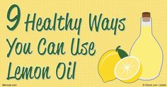 Discover lemon oil's therapeutic benefits, how to use it for cleaning and other applications, and why this fragrant citrus oil deserves a place in your home. http://articles.mercola.com/herbal-oils/lemon-oil.aspx