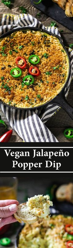 Vegan Jalapeño Popper Dip