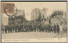 International troops at Kandanos. April 1905