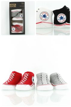 2c8420d265d Converse Baby Knit Booties    Now the little ones can wear Converse Chucks  as well. Soft knit booties