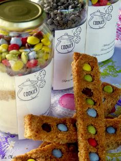 Kit pour cookies à offrir aux maîtresses Kit Cookies, Cereal, Breakfast, Food, Gifts, Humor, Kitchens, Morning Coffee, Meals