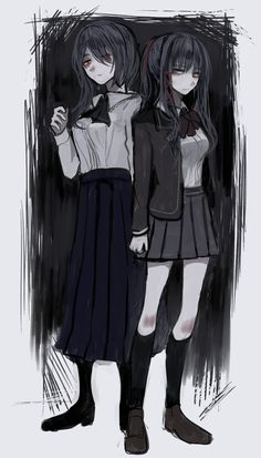 Yandere Anime, Arte Obscura, Film Aesthetic, Pretty Art, Akira, Female Art, Yuri, Wattpad, Fan Art
