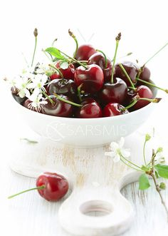 red cherries...