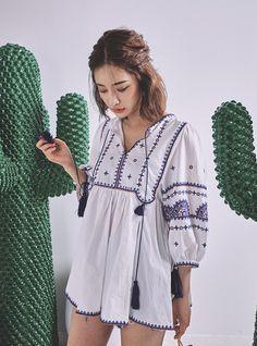 Byun Jungha, Korea Fashion, Stylenanda, Ulzzang Girl, Lipsticks, Casual Chic, Printed Shirts, Trendy Fashion, Style Me