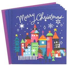 large charity lizzie scene cards - 8 pack