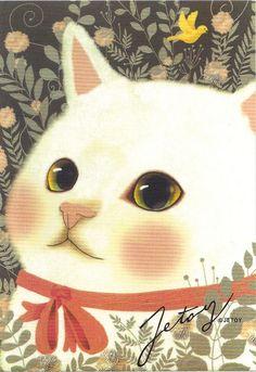 Ribbon Jetoy Postcard