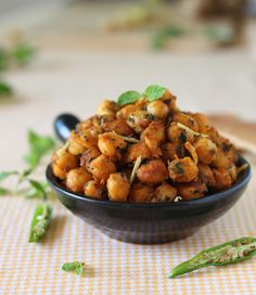 Minty Masala Chickpeas