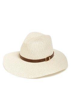 737863f0afe Sole Society Wide Brim Straw Hat
