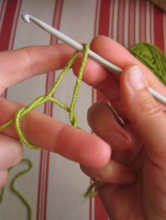 step by step how to crochet - I know all this, but she breaks it down