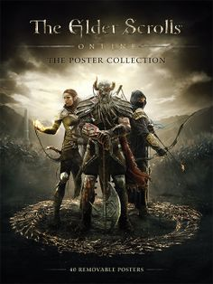 The Elder Scrolls Online Poster Collection - Available Now! http://elderscrollsonline.com/en/news/post/2014/05/27/eso-poster-collection