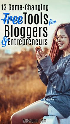 These game-changing free online tools are perfect for bloggers and entrepreneurs that don't have a ton of money to spend on resources. #Blogging #BloggingTips