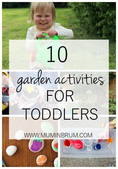 10 garden activities to do with your toddler