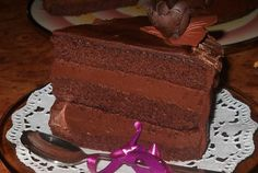 Sweets Recipes, Cake Recipes, Romanian Desserts, Something Sweet, Chocolate Cake, Good Food, Goodies, Cooking, Cakes