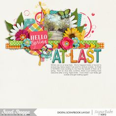 at last by sara espy | using bloom by melissa bennett designs