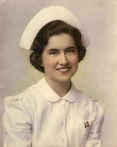When nurses dressed like nurses- yes every pt knew who was the nurse but those caps were the full of germs as we never washed them and I swear that I still have bald spots where the bobby pins were when my cap and the pts curtains met.  repin if you can identify with that!!