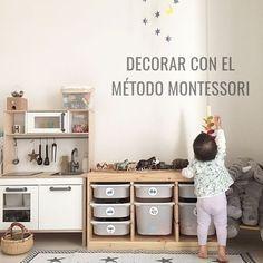 DECORAR CON EL MÉTODO MONTESSORI UNA HABITACIÓN INFANTIL @utrillanais www.anautrilla.com