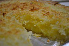Coconut Custard Pie - Best EVER - Mrs Happy Homemaker