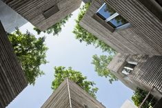20 Must-See Buildings that have Breathing Lush Walls and Green Roofs - 17 House for Trees  3