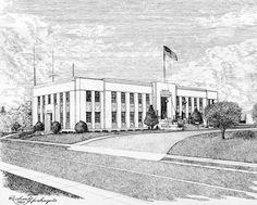 Klickitat                                          County - Goldendale, Washington Washington Court House, Washington State, Goldendale Washington, State Court, New Homes, Street View, Houses, Red, Homes