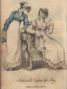 1815 - love the blue spencer!