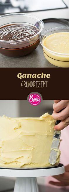 Eine Ganache ist eine Creme aus Schokolade und Sahne. Je nach Schokoladensorte und Verwendungszweck ändert sich das Verhältnis der beiden Komponenten. #ganache
