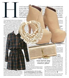 """""""Classic Girl"""" by lohan-kbug on Polyvore featuring Yves Saint Laurent and Kate Spade"""